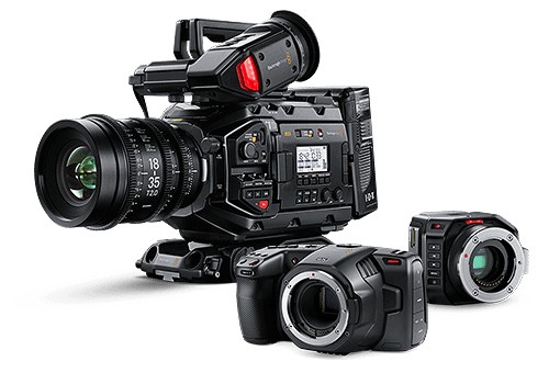 Blackmagic kamery
