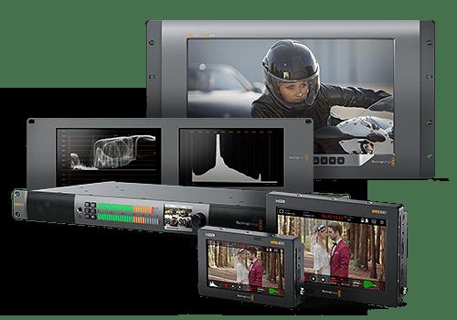 Blackmagic monitory signálu