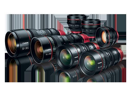 Objektívy Canon