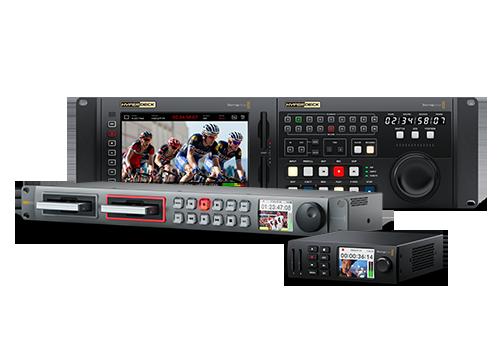 Videorekordéry Blackmagic HyperDeck