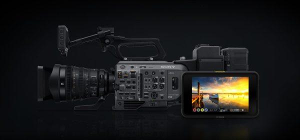 Atomos prináša RAW záznam do Sony PXW-FX9