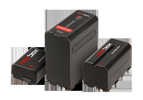 HEDBOX DV batérie