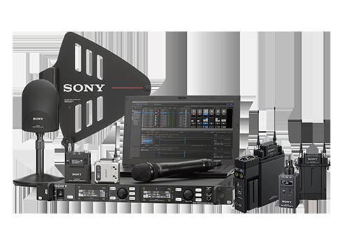 Sony mikrofóny a audio