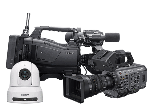 Sony kamery a kamkordéry