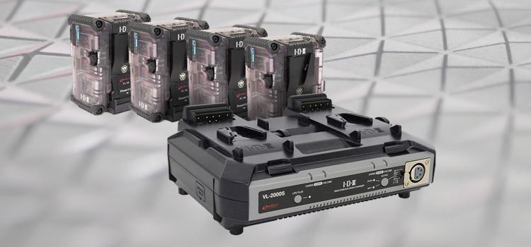 2-ch nabíjačka IDX VL-2000S zdarma