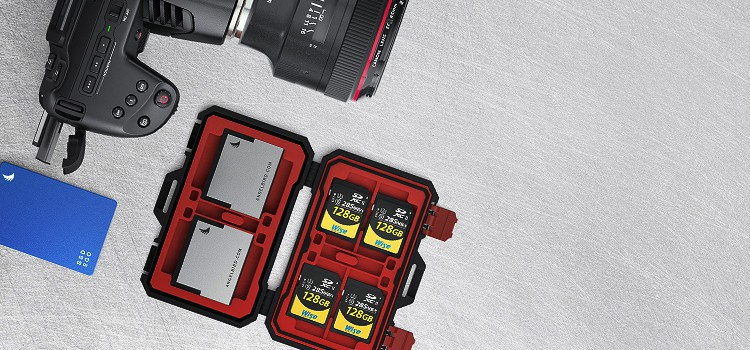 Doporučené pamäťové karty pre Blackmagic Pocket Cinema Camera 6K