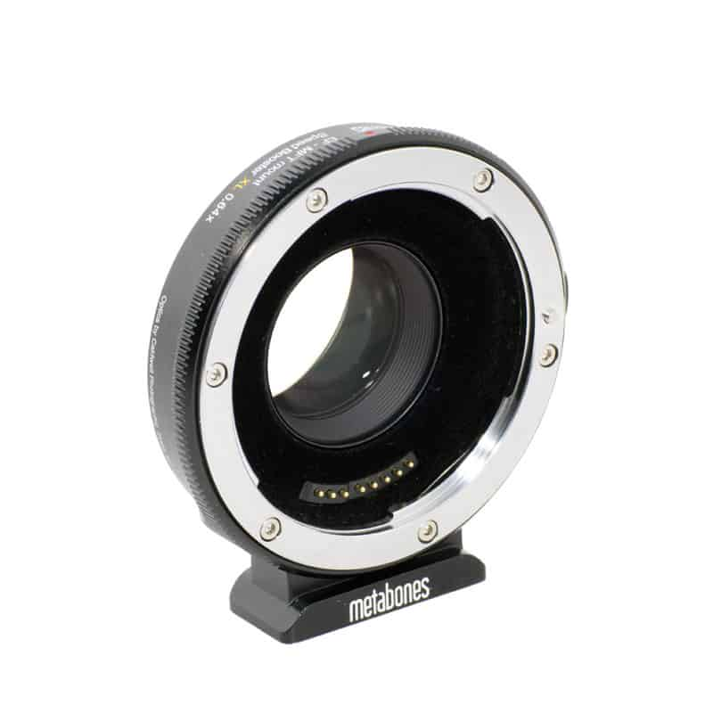 Metabones Canon EF Lens to Micro Four Thirds T Speed Booster XL 0.64x (MB_SPEF-m43-BT3)