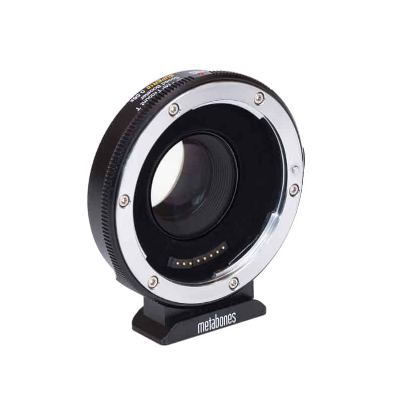 Metabones Canon EF Lens to Micro Four Thirds T Speed Booster SUPER16 0.58x (for Blackmagic Design Super-16mm sensor sized camera) (MB_SPEF-m43-BT7)