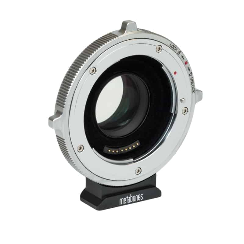 Metabones Canon EF Lens to BMPCC4K T Cine Speed Booster Ultra 0.71x (MB_SPEF-m43-BTA)