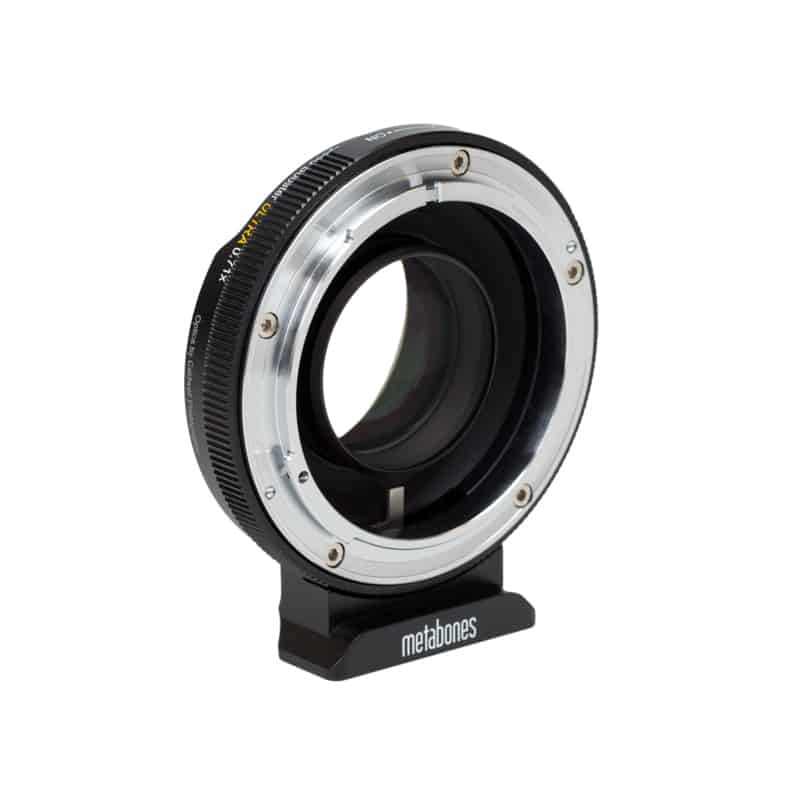 Metabones Canon FD / FL to Micro Four Thirds Mount Speed Booster Ultra 0.71x (MB_SPFD-m43-BM4)