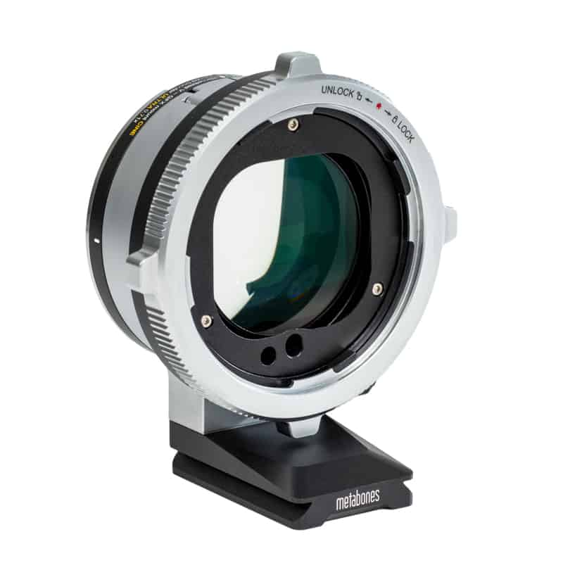 Metabones Hasselblad V Lens to Fujifilm G mount (GFX) Cine Speed Booster Ultra 0.71x (MB_SPHV-FG-BM1)