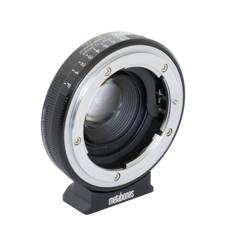 Metabones Nikon G to Pentax Q Speed Booster Q666 0.50x (MB_SPNFG-Q-BM1)