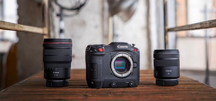Podporované pamäťové karty pre Canon EOS C70