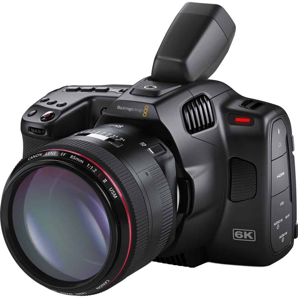Blackmagic Pocket Cinema Camera 6K Pro EVF 1