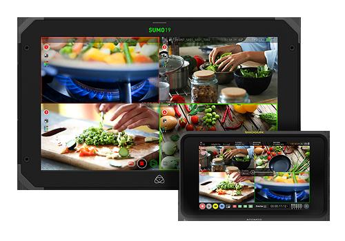 Atomos live / switcher monitory