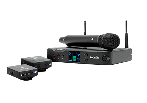 Bezdrôtové mikrofóny RODE
