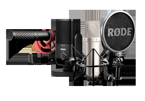 RODE mikrofóny