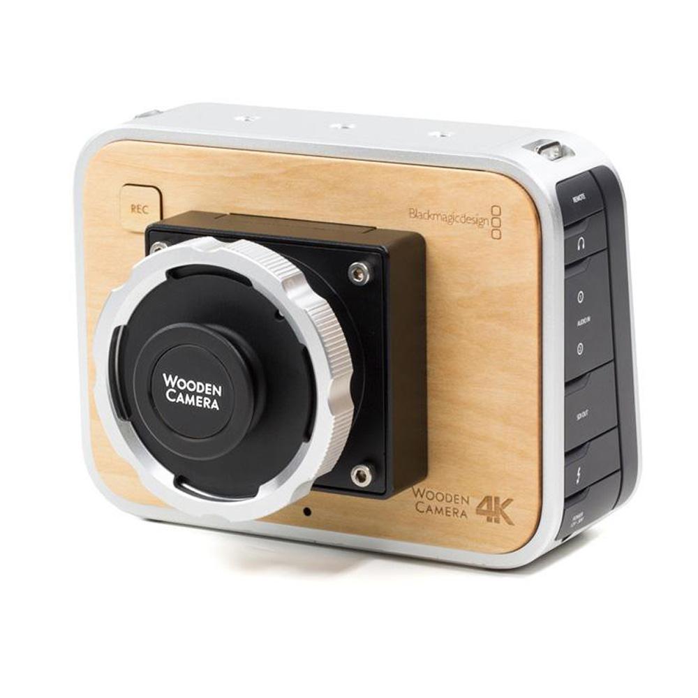 Wooden Camera BMPC 4K Modification + PL Mount