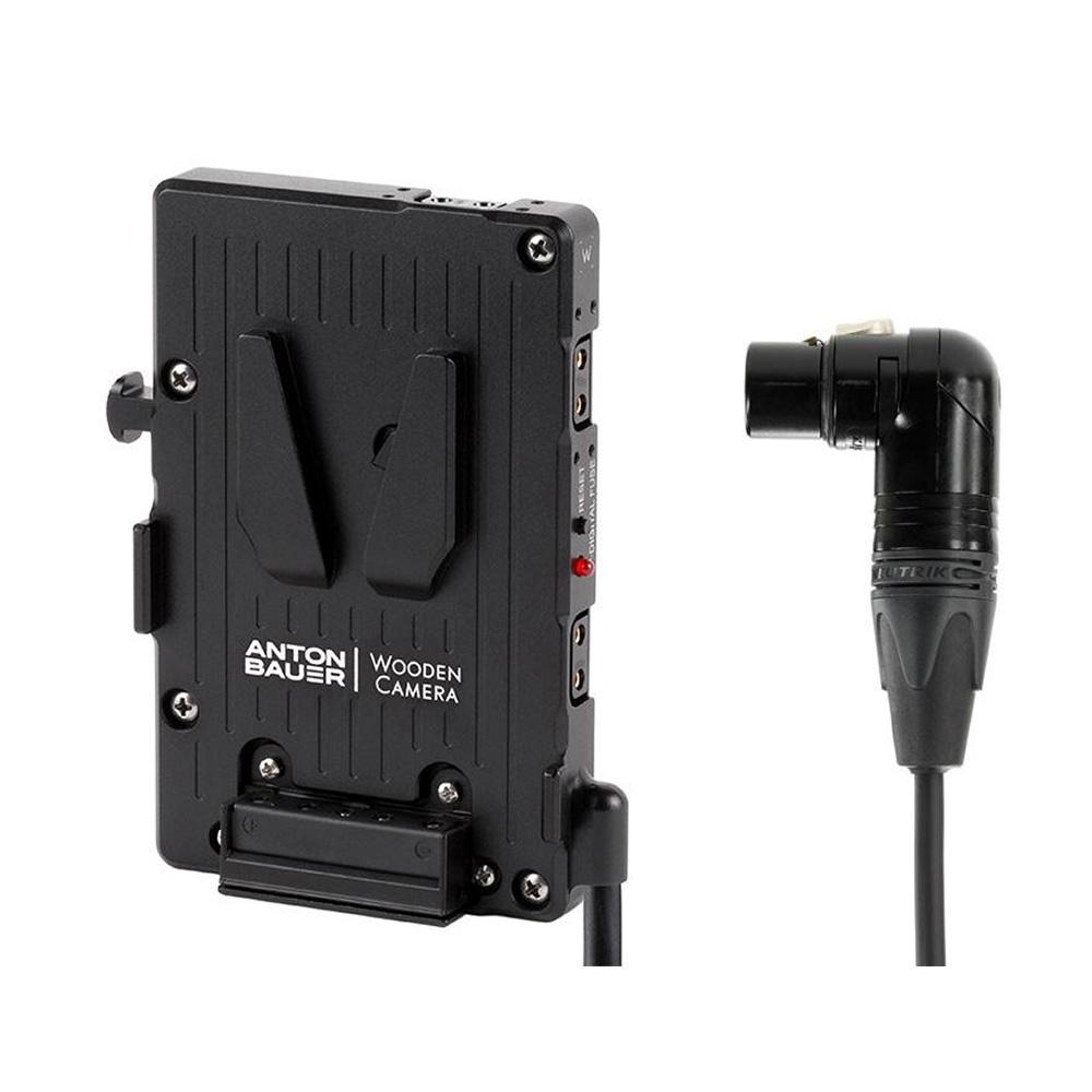 Wooden Camera WC Pro V-Mount (4pin XLR Right Angle)