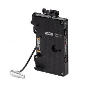 Wooden Camera Battery Slide Pro Gold Mount (RED KOMODO)